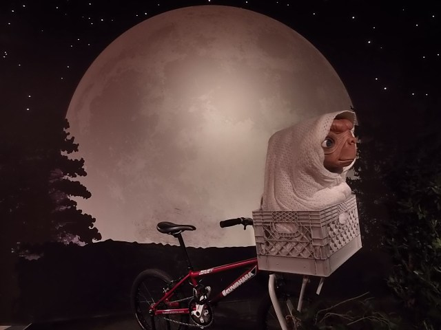 ET Bicycle at Madame Tussauds