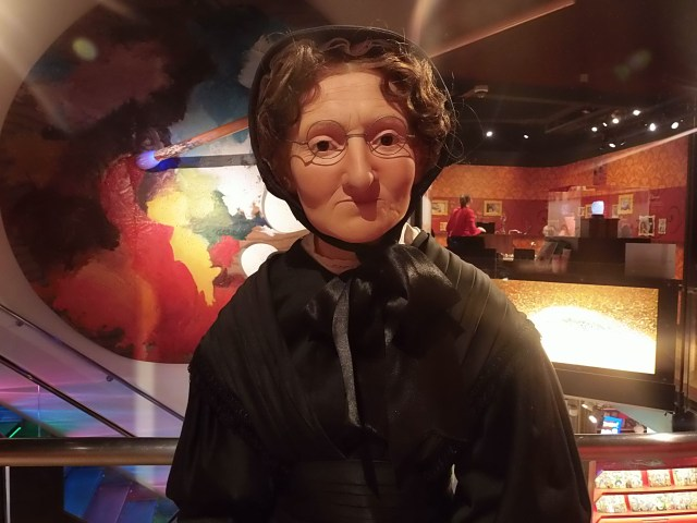 History section at Madame Tussauds