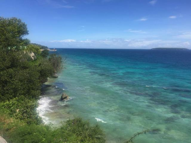 Mesmerizing beauty of the ocean in South Cebu
