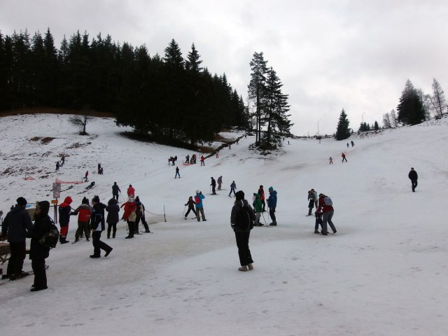 Winter activity in pamporovo
