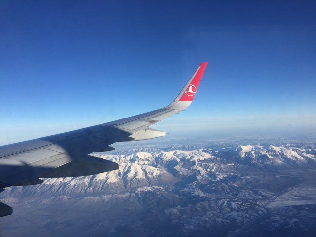 Turkish airline over winter