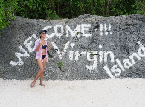 Popular Virgin Island sign