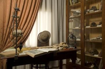 Studio di un paleoantropologo (foto di Stefano Puzzuoli)
