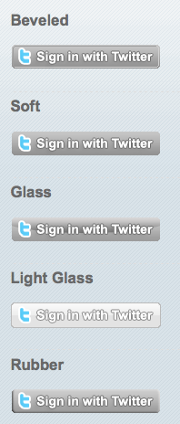 Sign in with Twitter
