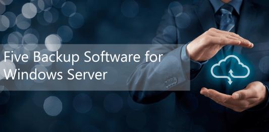 Five Backup Software Header