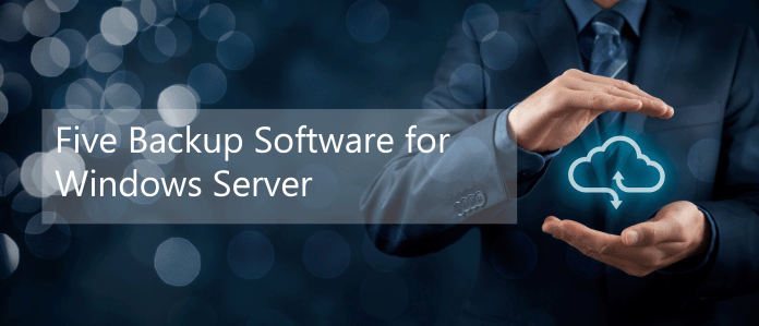 Five Backup Software Header