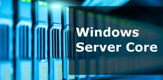 Windows server core