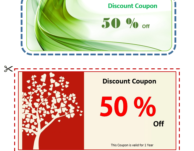 coupon designs archives ms office documents