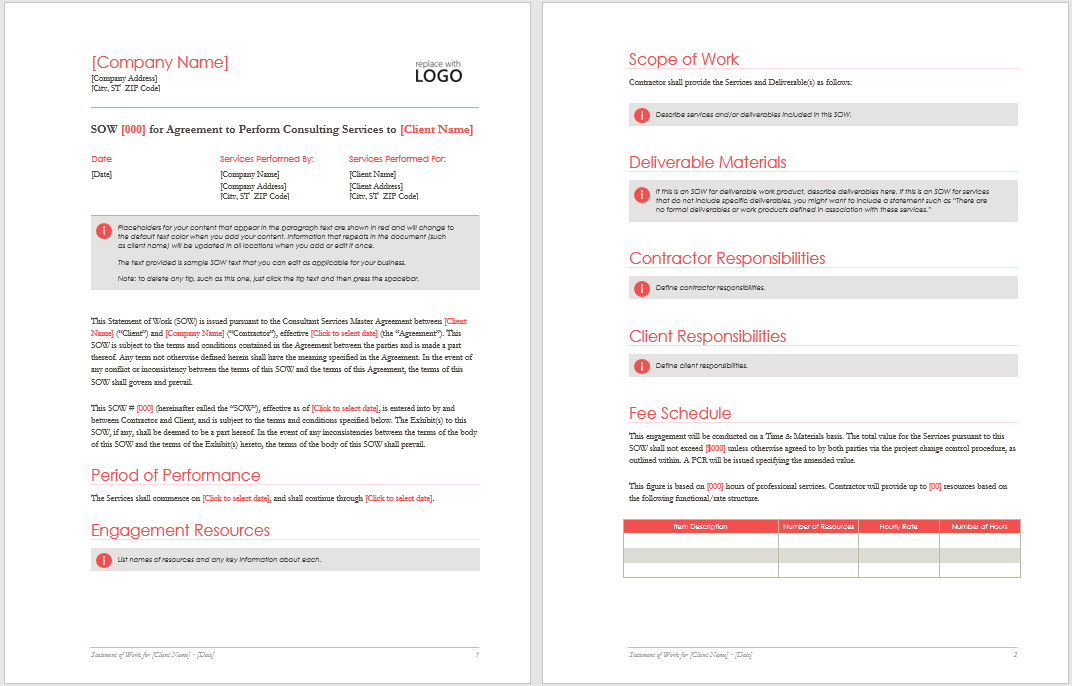 ms office proposal template