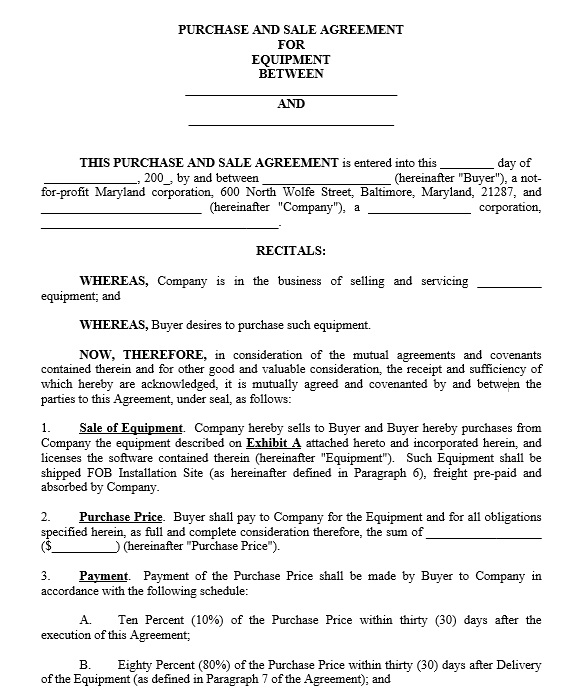 18+ Free Intellectual Property Sale Agreement Templates