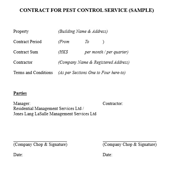 15 Free Pest Control Quotation Templates Ms Office Documents