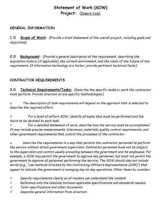17 free statement of work templates ms office documents share this maxwellsz