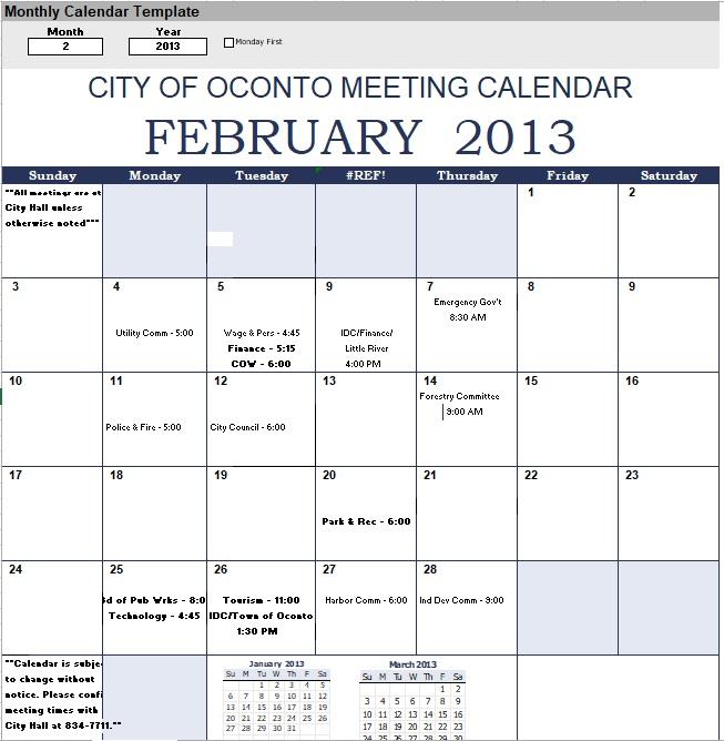microsoft office schedule templates