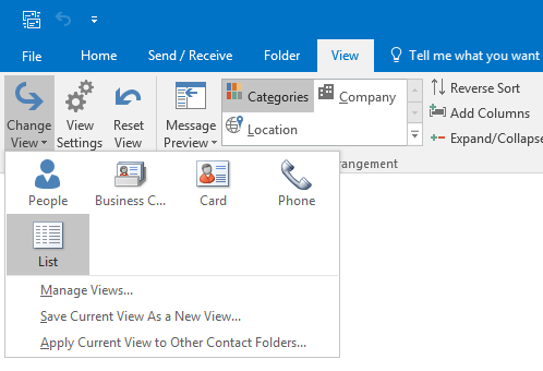 Create A Contact Group For Contacts Belonging To The Same