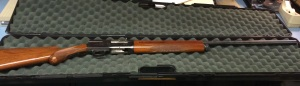 This Browning Arms 12 gauge semiautomatic shotgun was seized