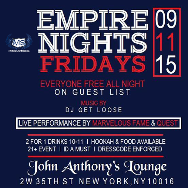 John Anthonys bar happy hour