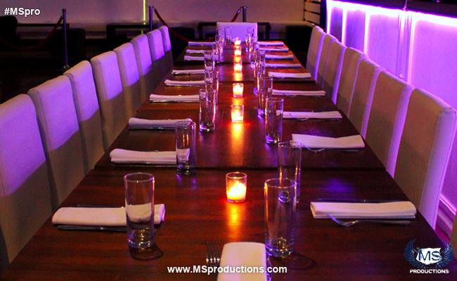 The Loft LIC Group Dining