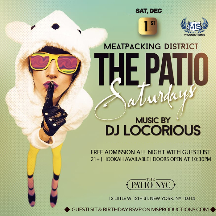 The Patio NYC Bar and Lounge