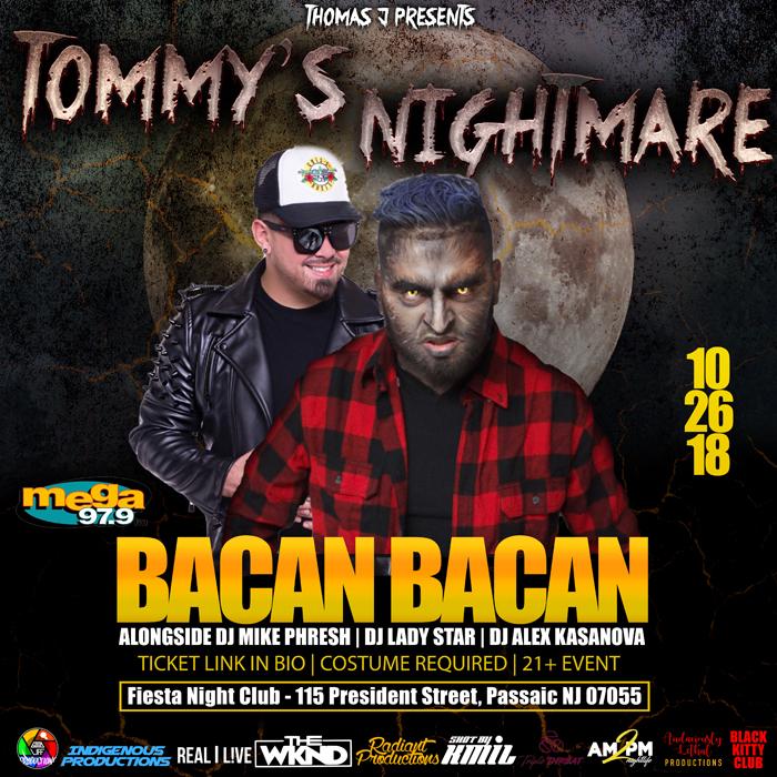 Tommys Nightmare NJ