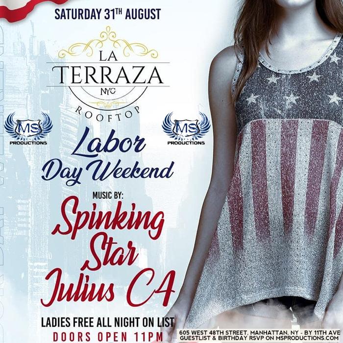 La Teraza NYC Rooftop and bar