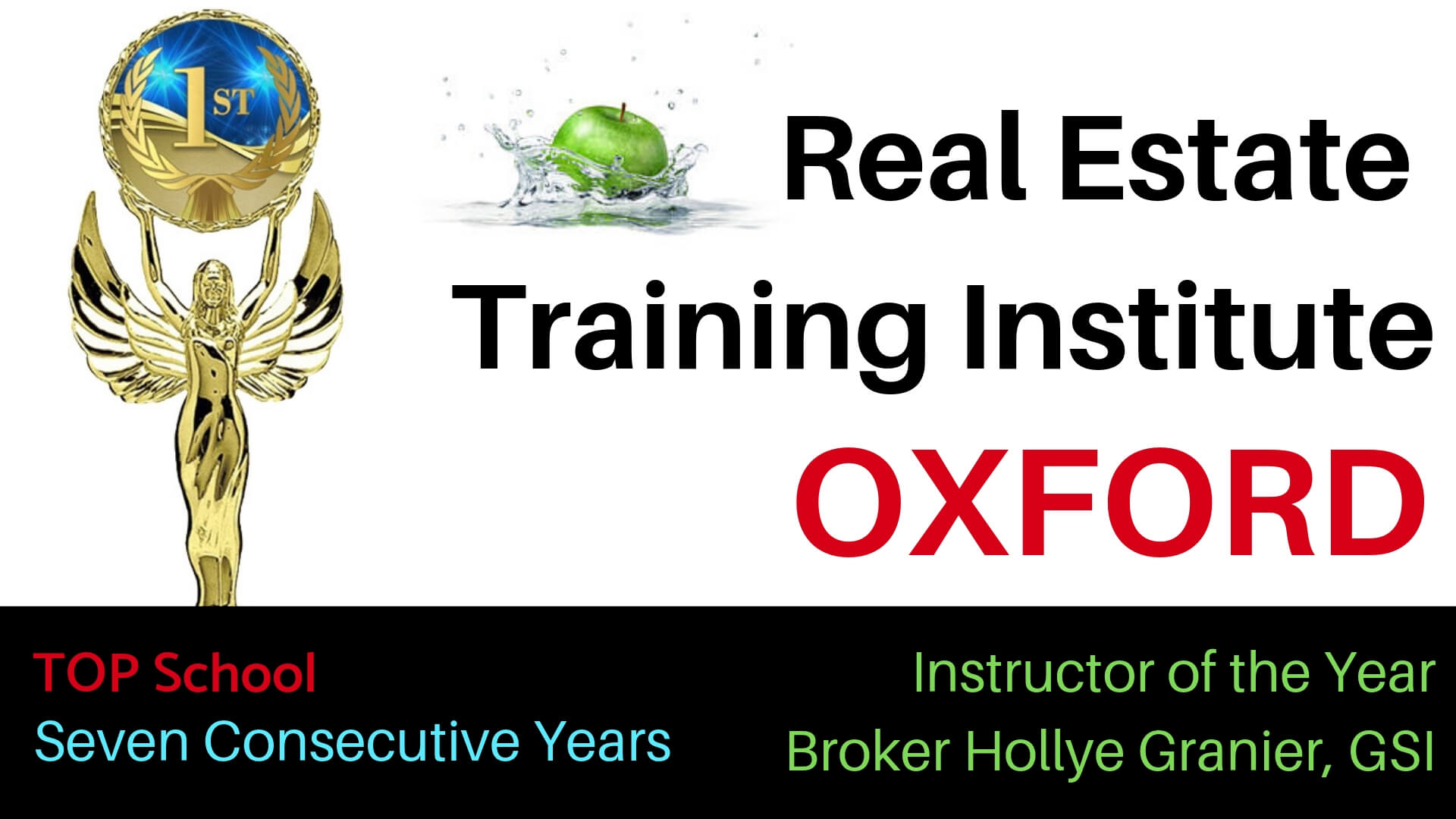 real estate license courses in Oxford""