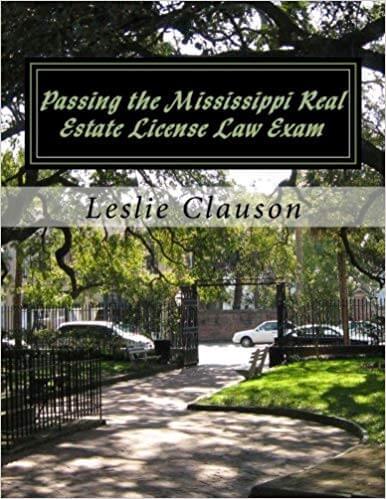 mississippi real estate license exam