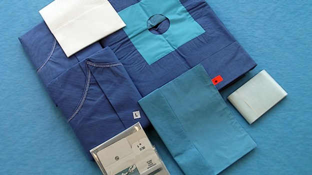 Basic components: (Qualities and sizes according to your specifications) <br/>Plain Drape 100x150 cm; <br/>Extremity Drape; <br/>Surgical Tape; <br/>Surgical gown Gr. L; <br/>Surgical gown Gr. XL; <br/>Towels; <br/>Camera tube Cover.