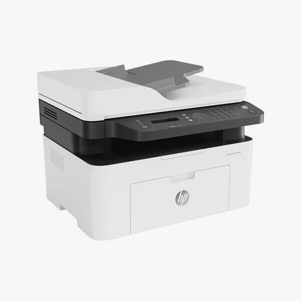 მრავალფუნქციური პრინტერი: HP Laser MFP 137fnw Printer - 4ZB84A