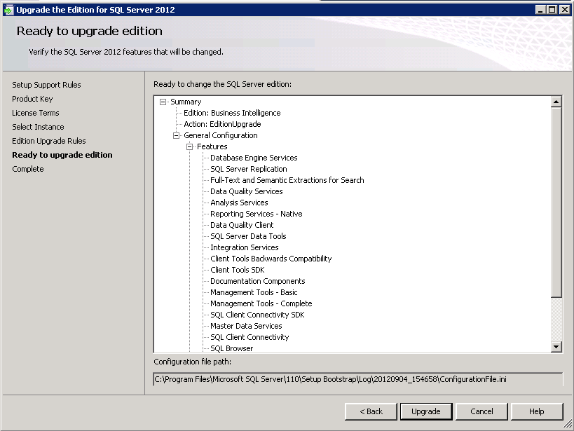 Ms SQL Girl | Upgrading from SQL Server 2012 Evaluation Edition