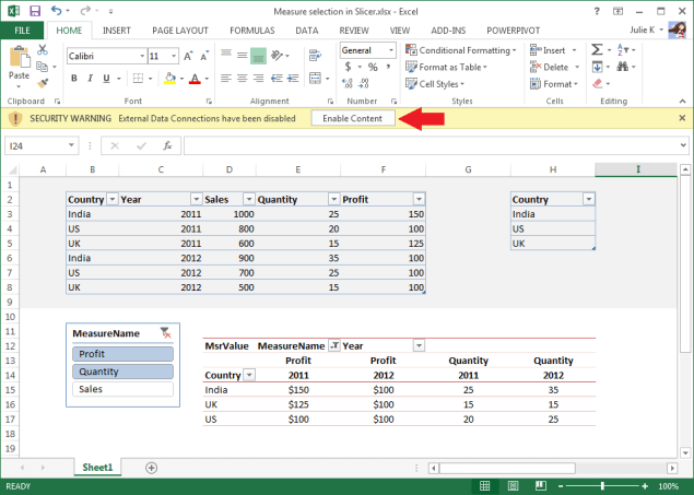 Open Excel 2010 workbook in Excel 2013