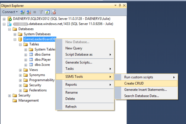 WASD - STP Server Options