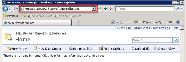 SQL Server 2008 R2 Reporting Services Web Service URL