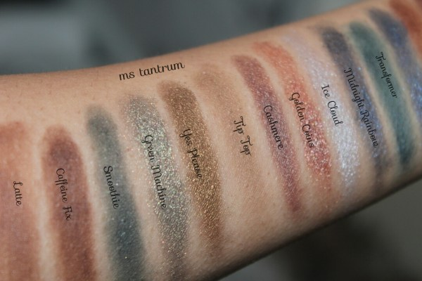 Fortune favours the brave swatches