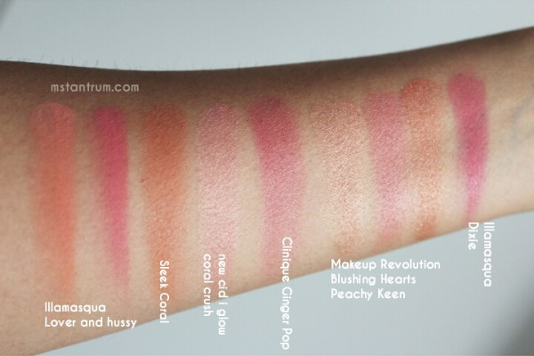 Summer makeup edit - blushes