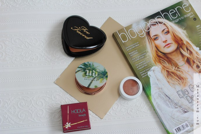 Bronzers for medium skin