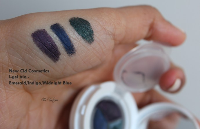 i-gel trio swatch