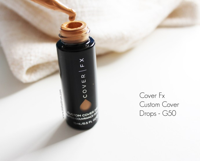 Cover Fx Custom Cover Drops Review + Swatches