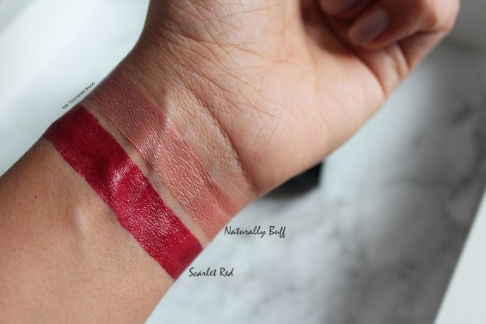 Mary Kay Lipsticks Swatches on Ms Tantrum Blog