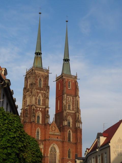 spacer po Wroclawiu, maj 2015