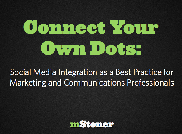Connect Your Own Dots Webinar