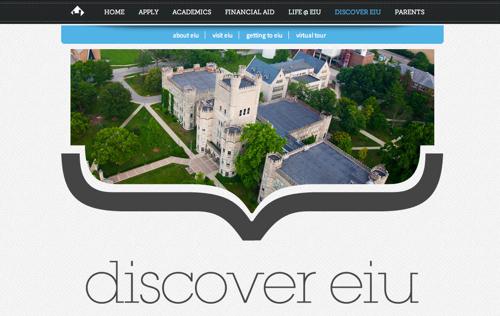 Eastern Illinois University Admissions Site