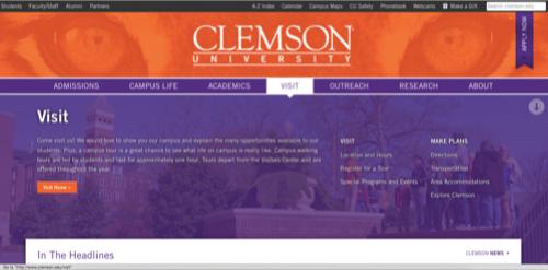 Clemson Visit