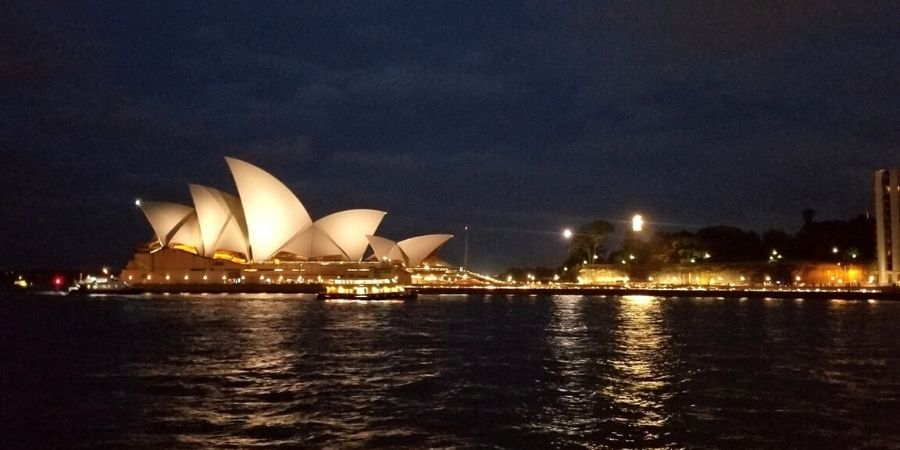 See the most iconic landmarks in Australia, the Sydney Opera House and Sydney Harbour Bridge.