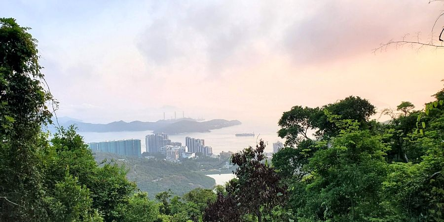 High West Hong Kong is a short hike to see a gorgeous sunset in HK.