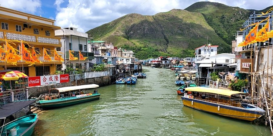 Tai O Village is one of the top Hong Kong off the beaten path places to visit.