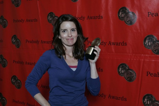 Tina Fey stars as Liz Lemon in NBC's hit sitcom, 30 Rock. (CC BY 2.0 Peabody Awards)