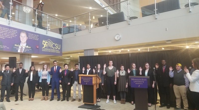 86th Student Government sworn in