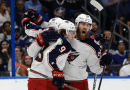 Upsets highlight the start of the NHL playoffs