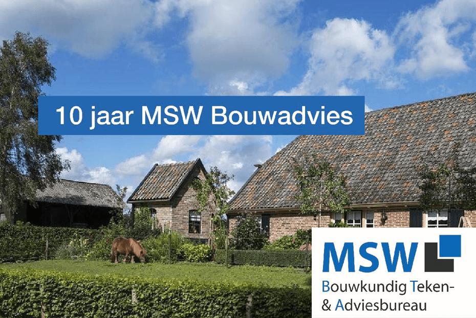 Magazine: 10 jaar MSW Bouwadvies