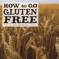 Field of Wheat with text How to Go Gluten Free